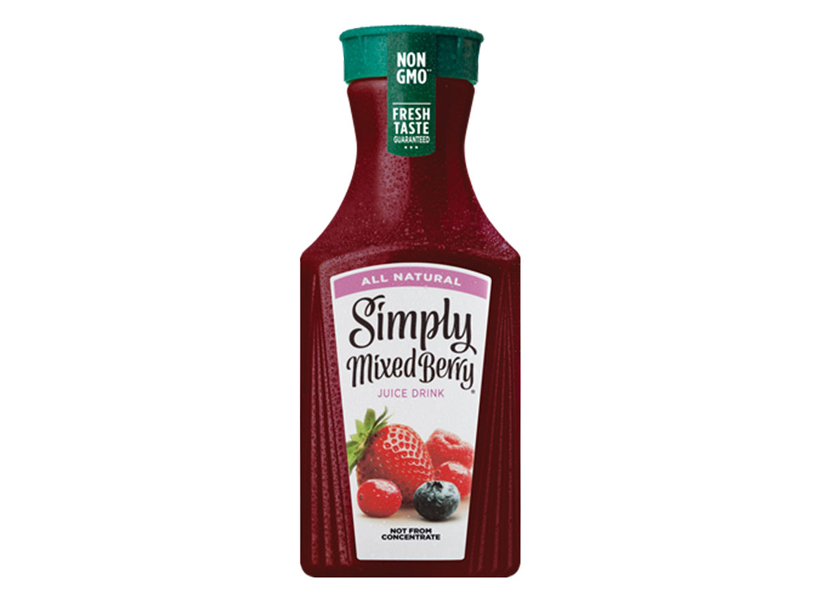 simply mixed berry