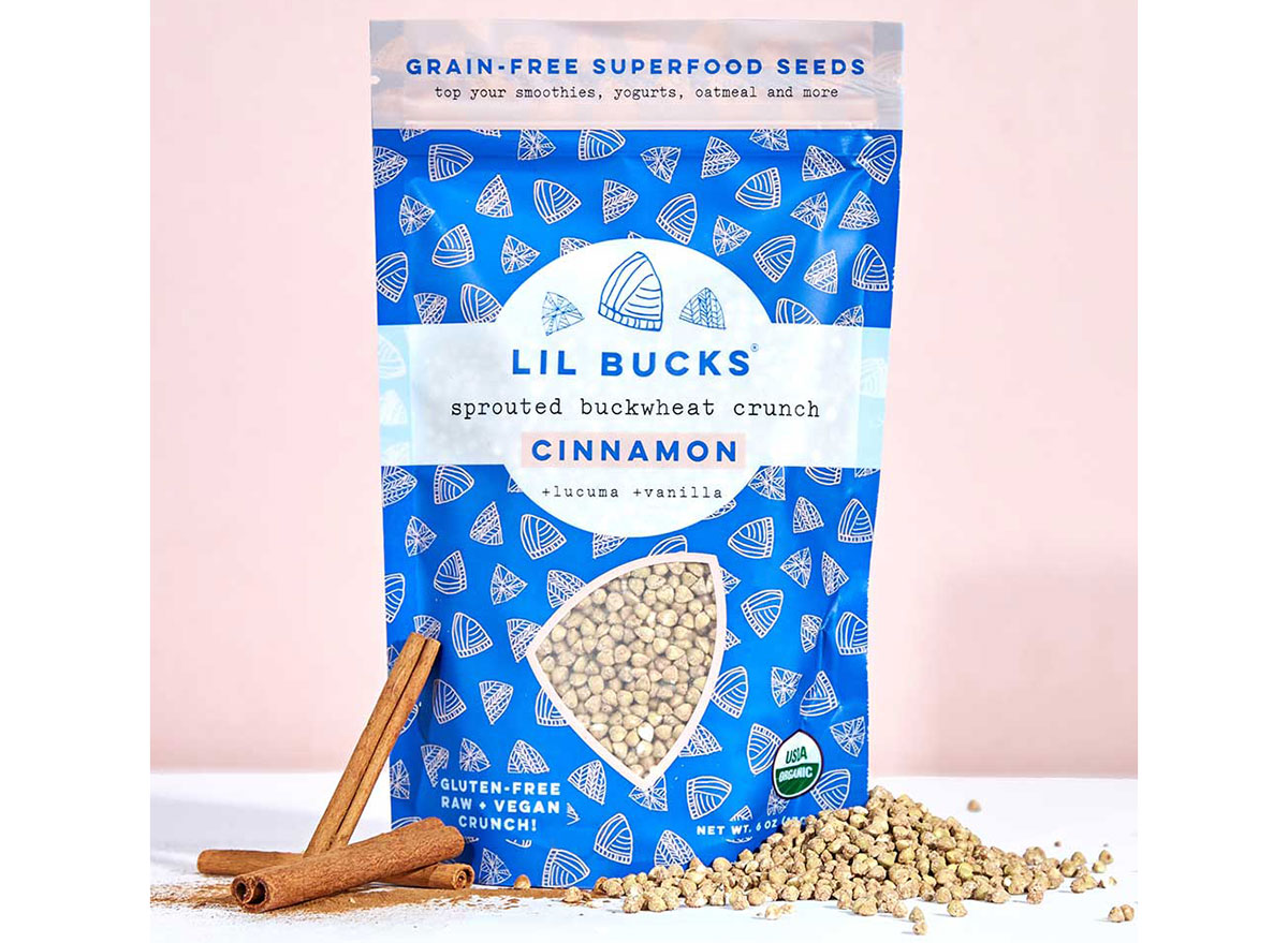 sprouted buckwheat crunch