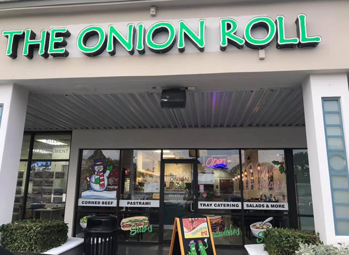 the onion roll