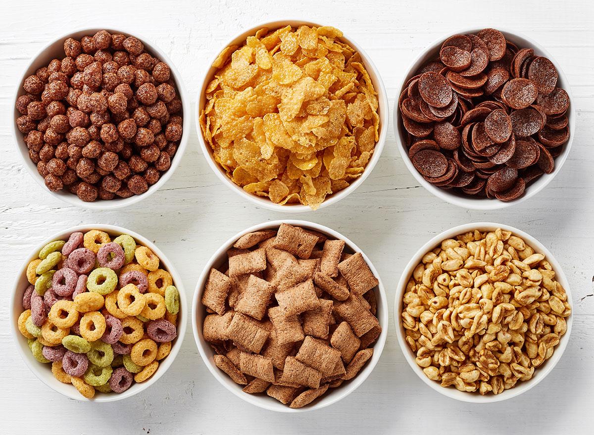 unhealthy cereal
