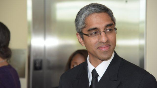 US surgeon general Vivek Murthy