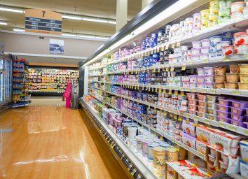 yogurt aisle