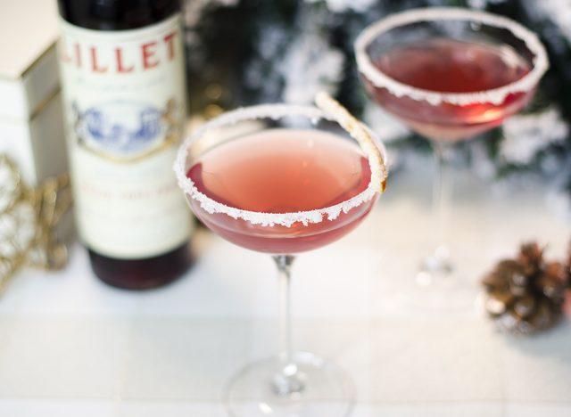 cranberry sparkler cocktail