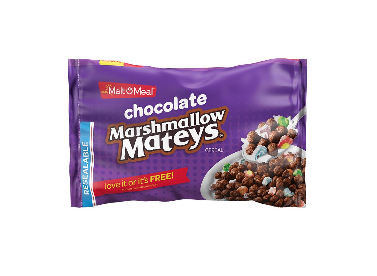 Chocolate Marshmallow Mateys