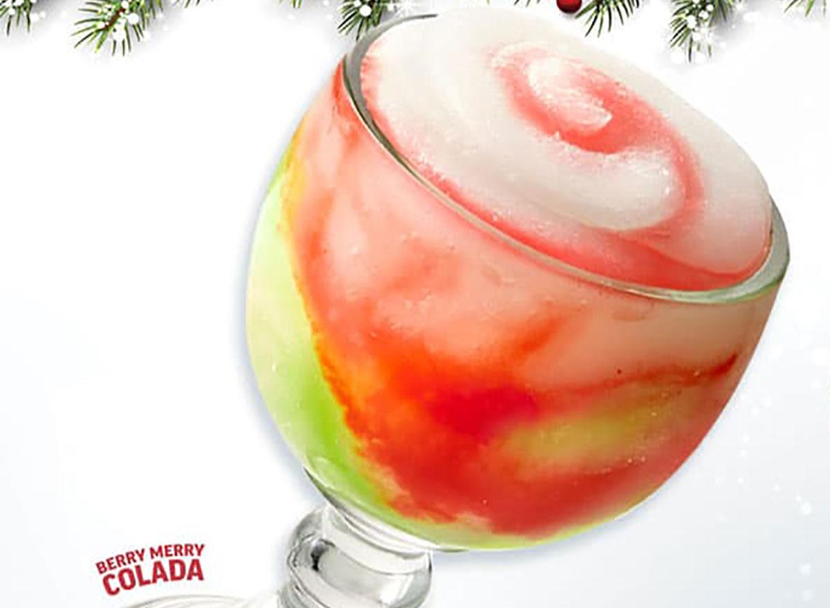 applebees berry merry colada