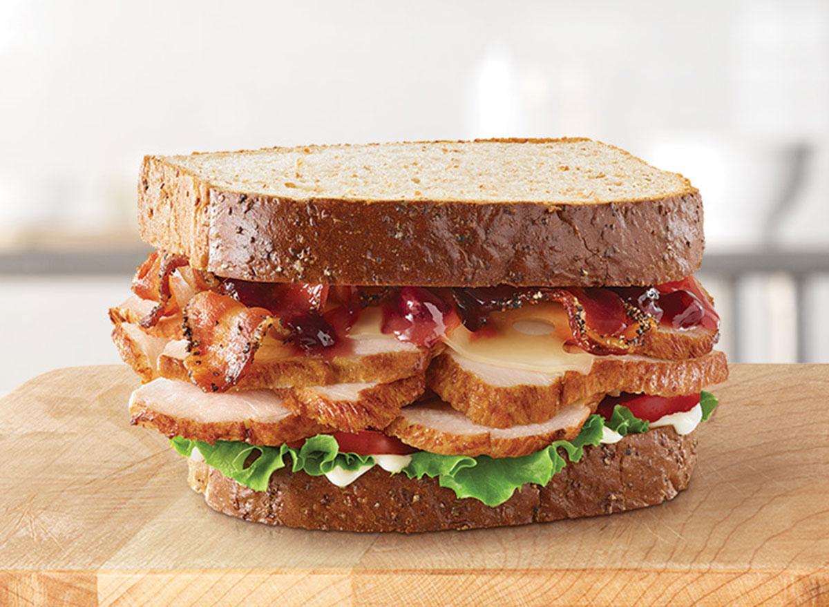 arbys turkey sandwich