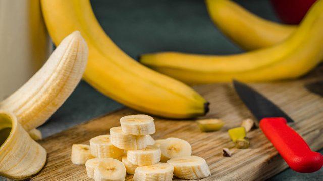 banana cut up