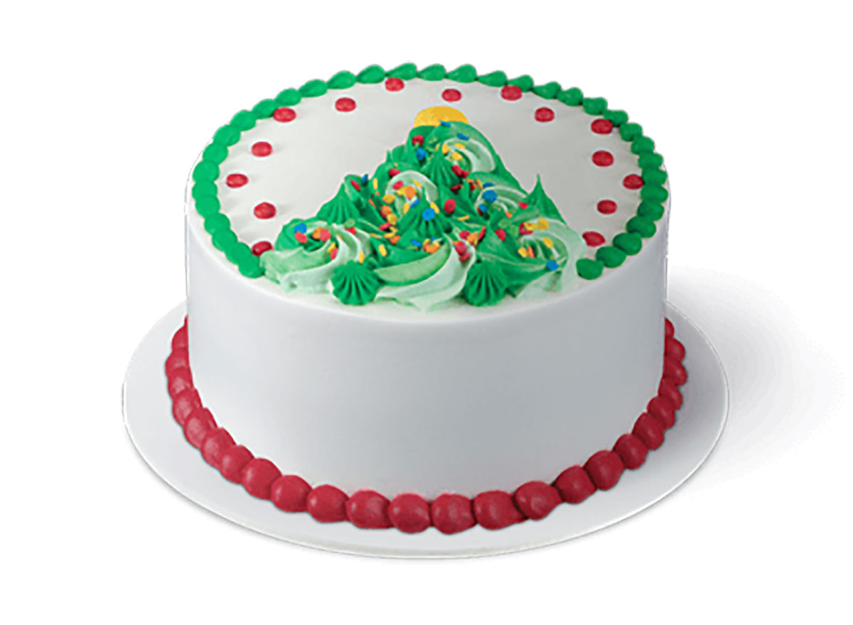 baskin robbins christmas tree cake