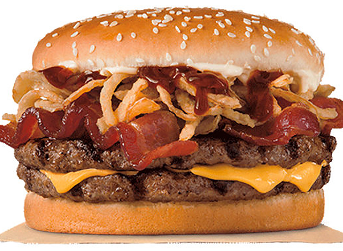burger king double steakhouse king burger