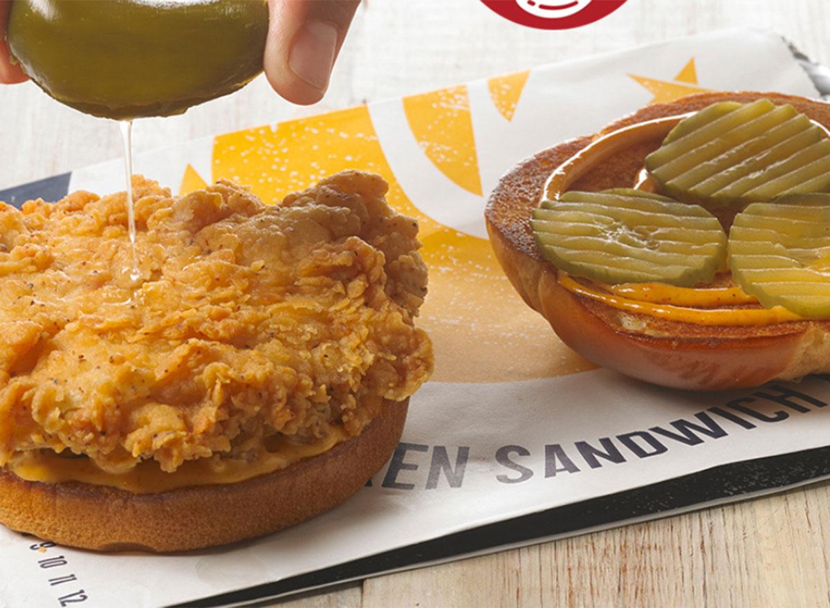 churchs spicy chicken sandwich