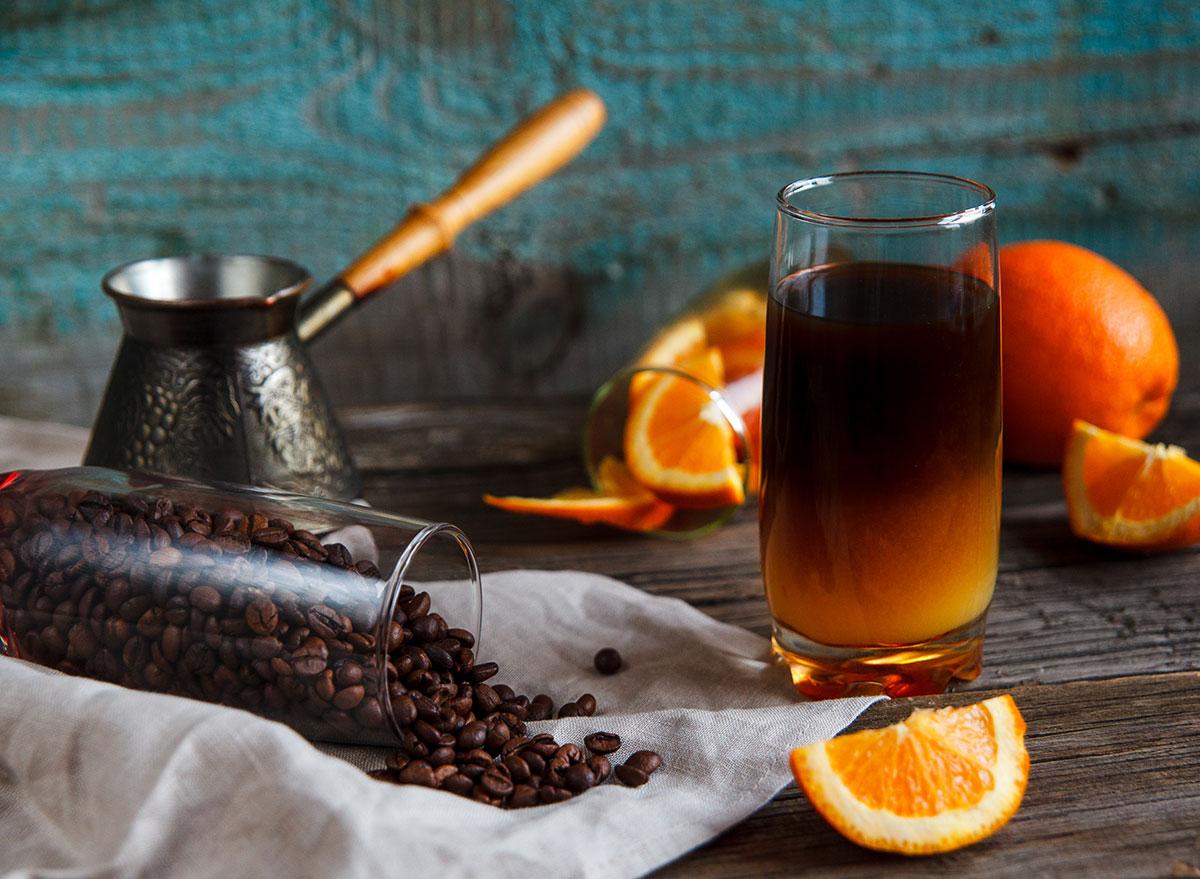 coffee orange