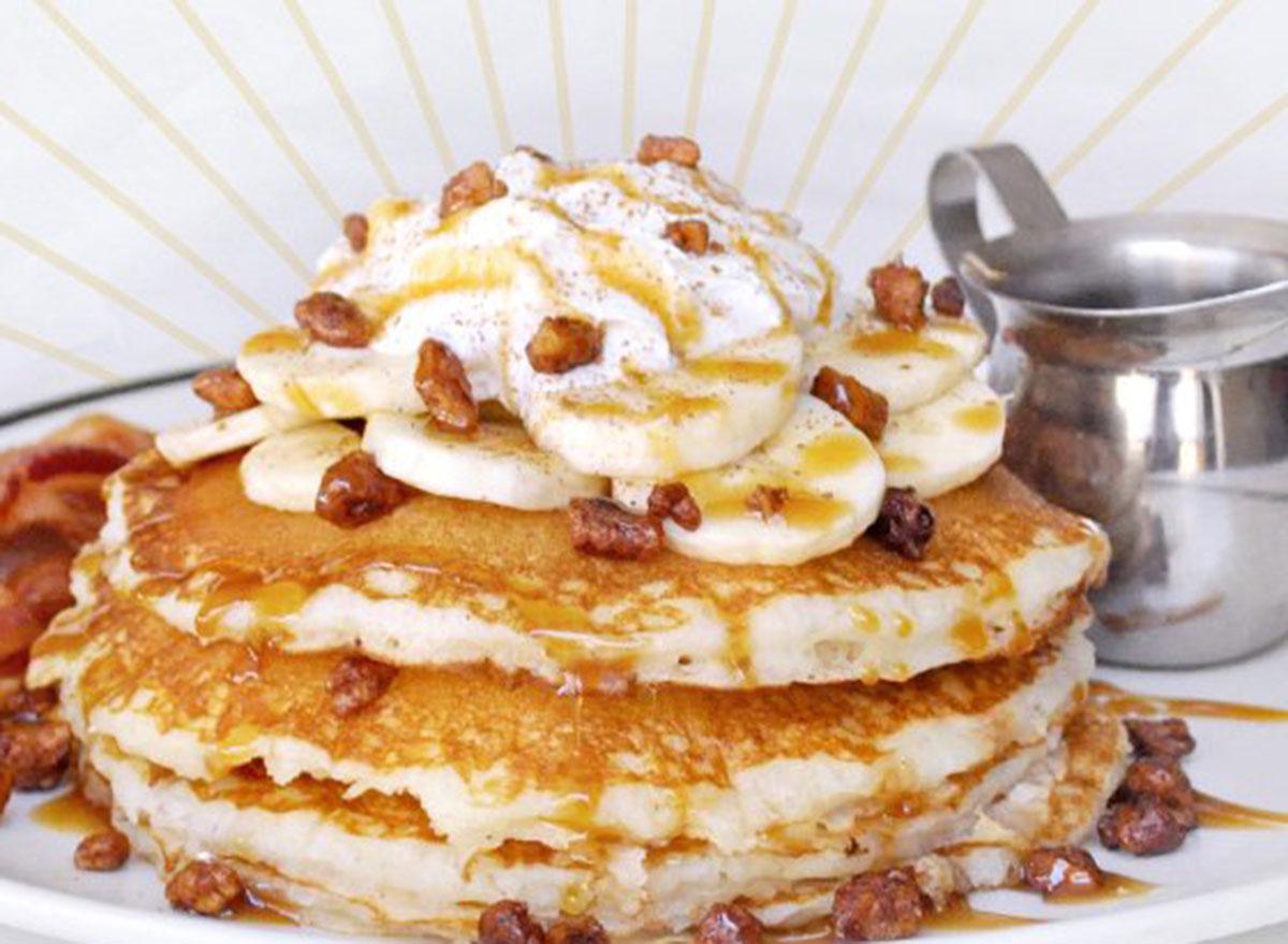 corner bakery bananas foster pancakes