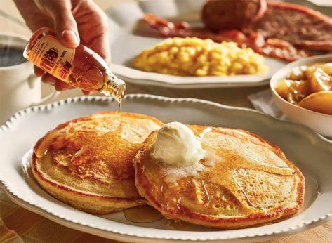 cracker barrel grandmas breakfast sampler