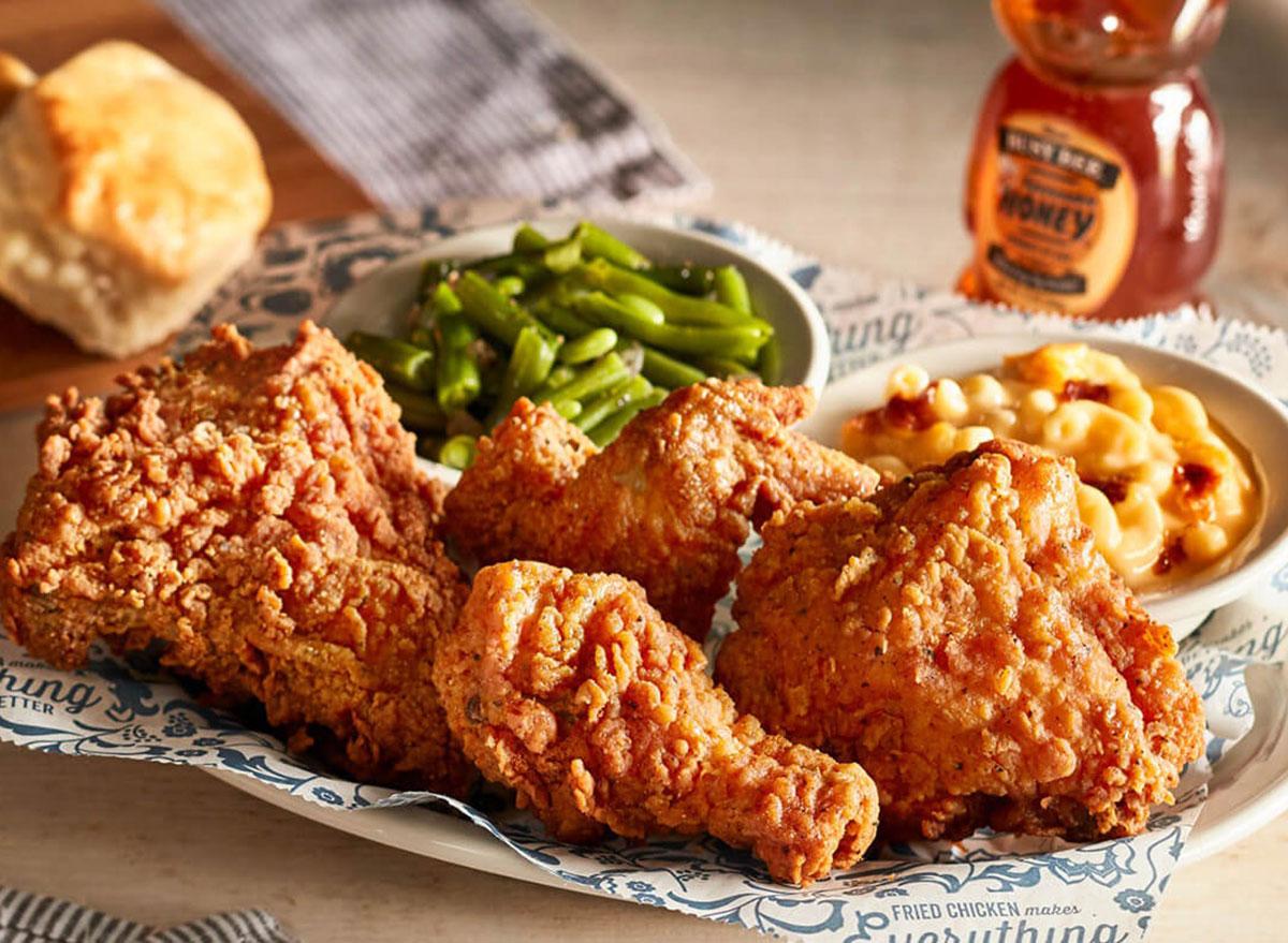 cracker barrel southern fried chicken