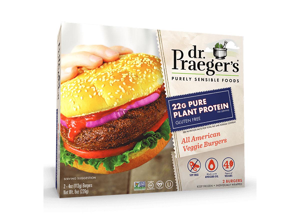 dr praeger all american veggie burger