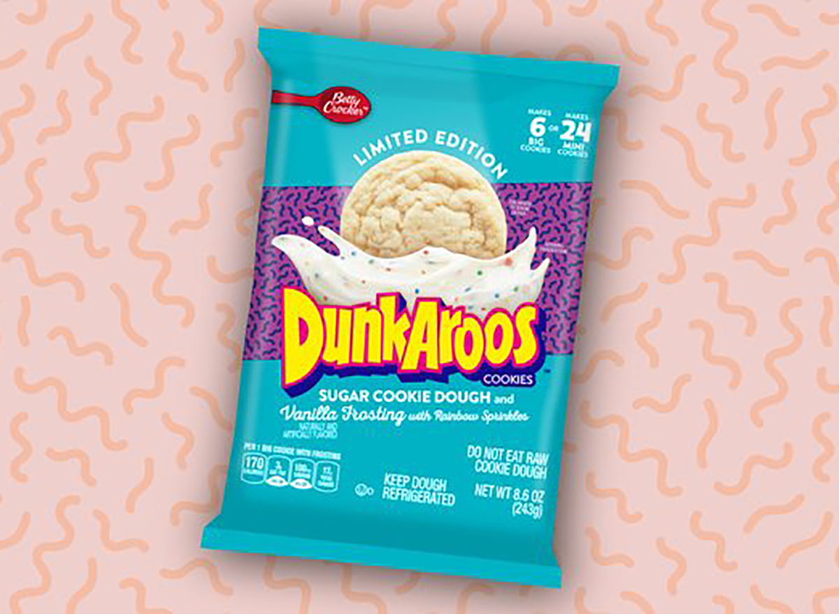 dunkaroos sugar cookie dough