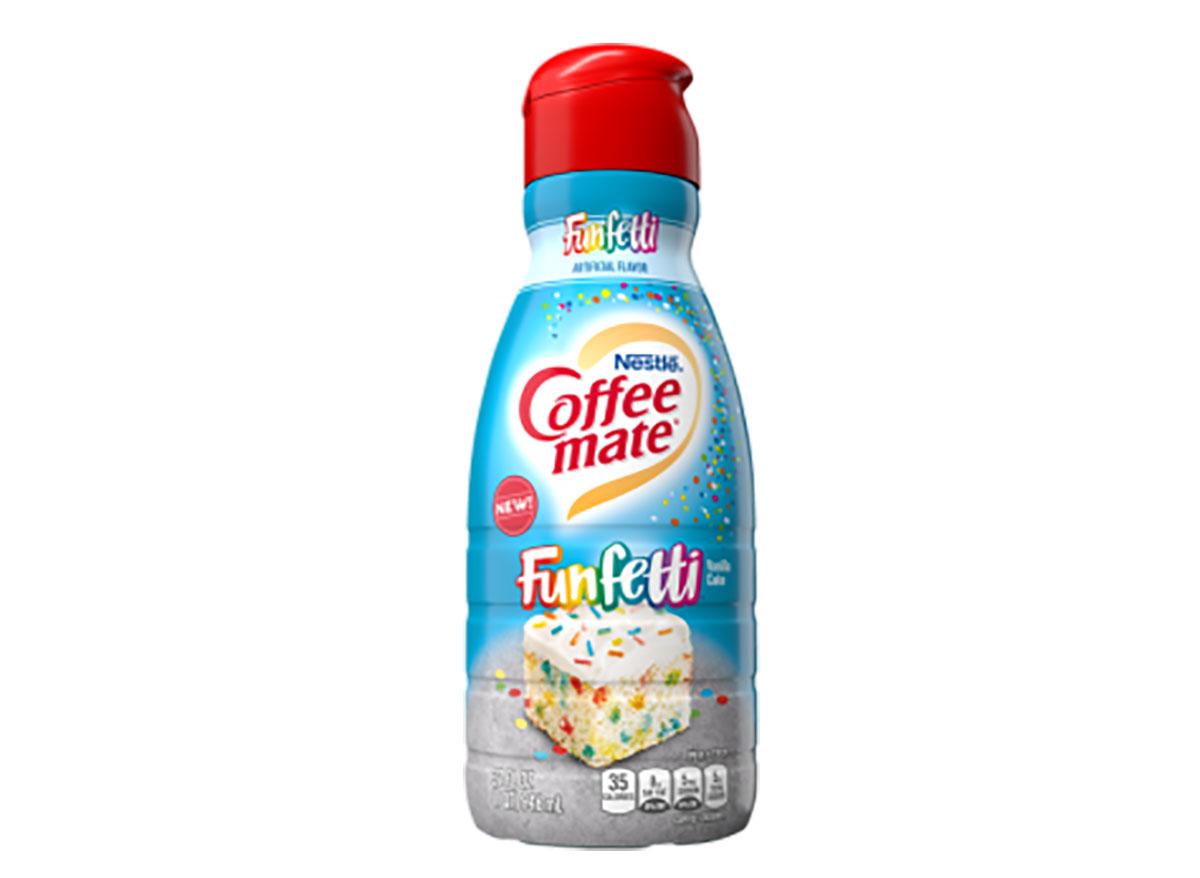 funfetti coffee creamer