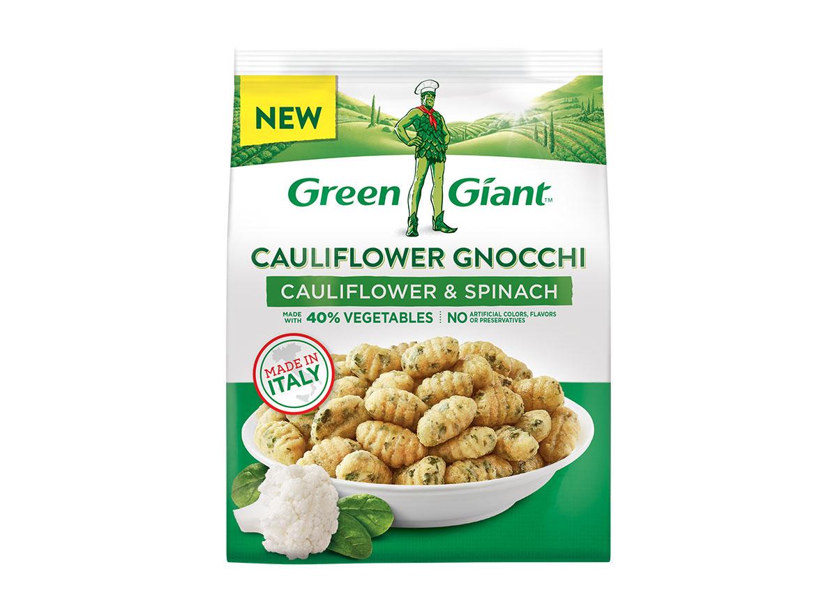 green giant cauliflower spinach gnocchi