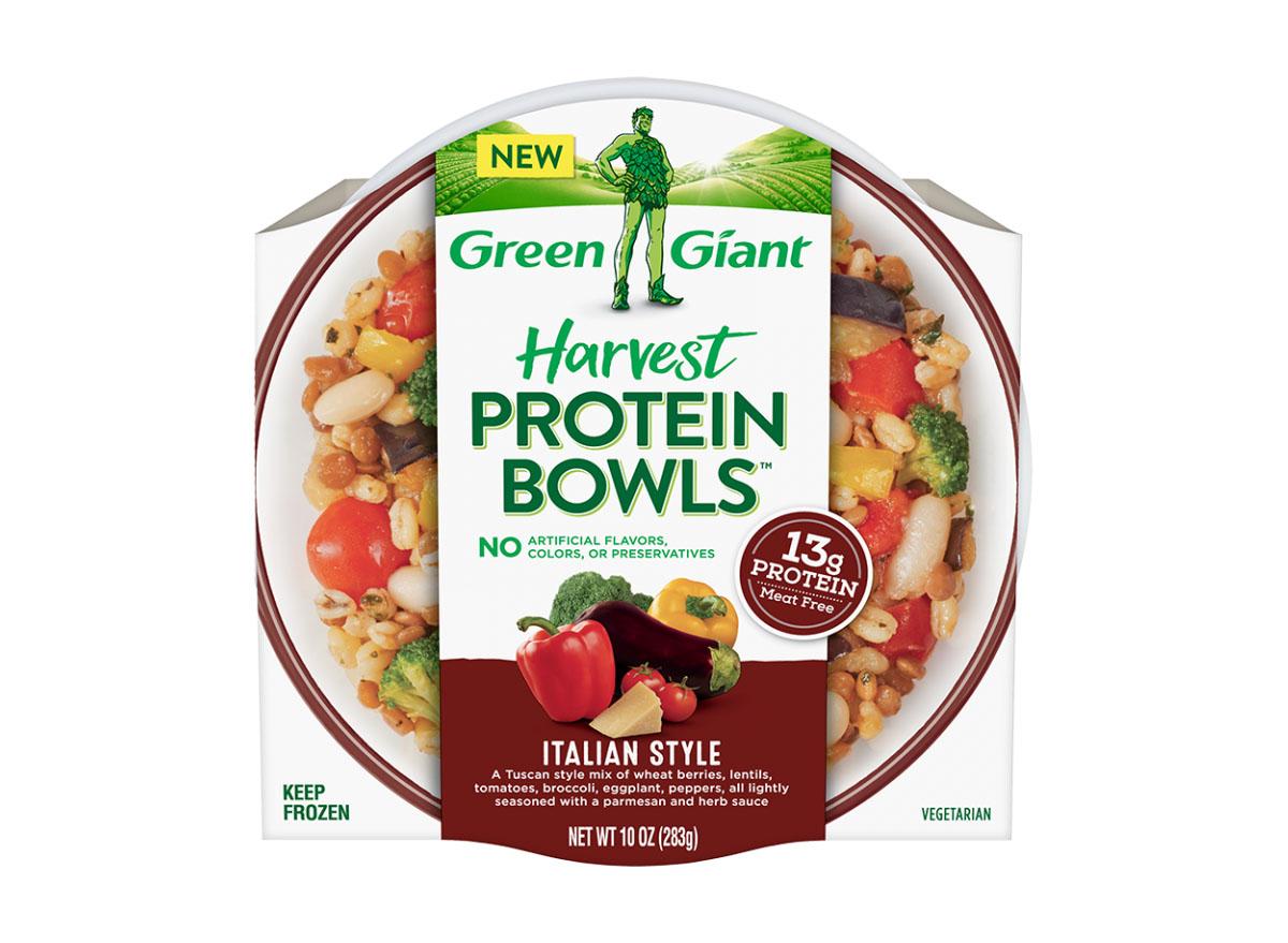 green giant harvest protein bowl italian style
