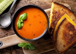grilled cheese tomato soup
