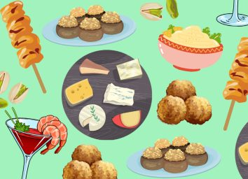 healthiest holiday appetizers
