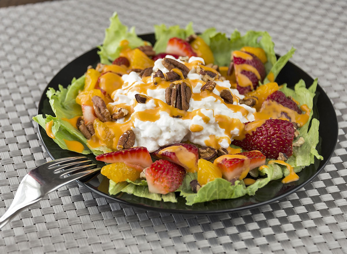 healthy colorful salad
