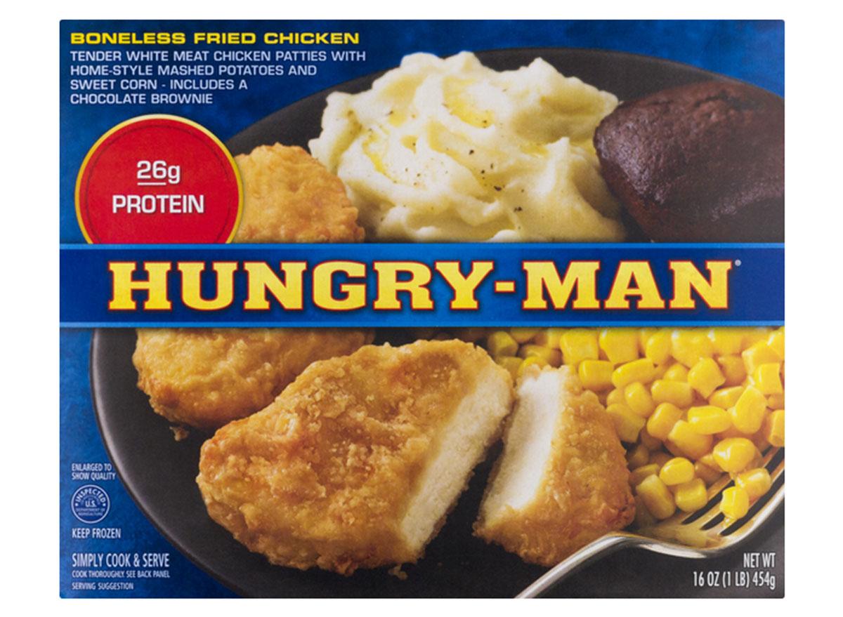 hungry man boneless fried chicken