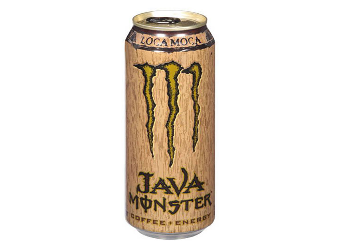can of monster java energy drink