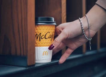 mcdonalds to go cup