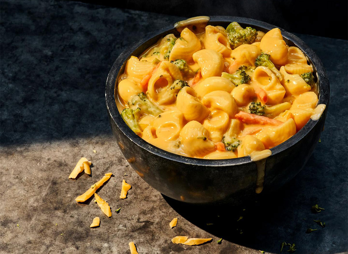 panera broccoli cheddar mac and cheese