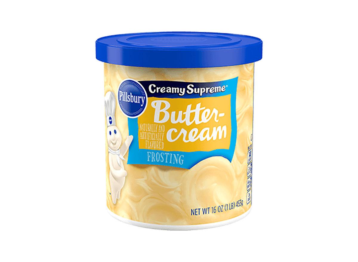 pillsbury buttercream frosting