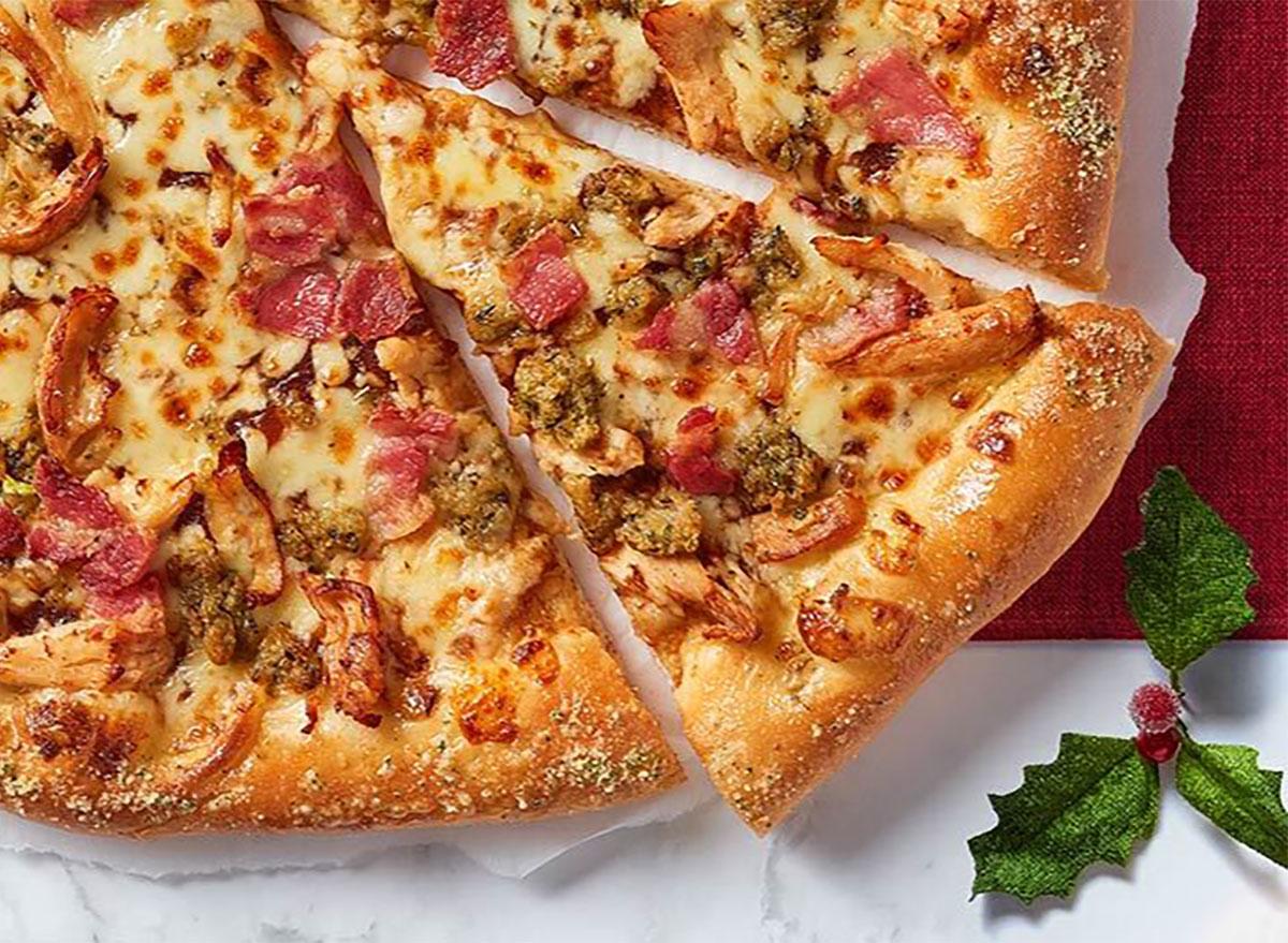 pizza hut christmas pizza