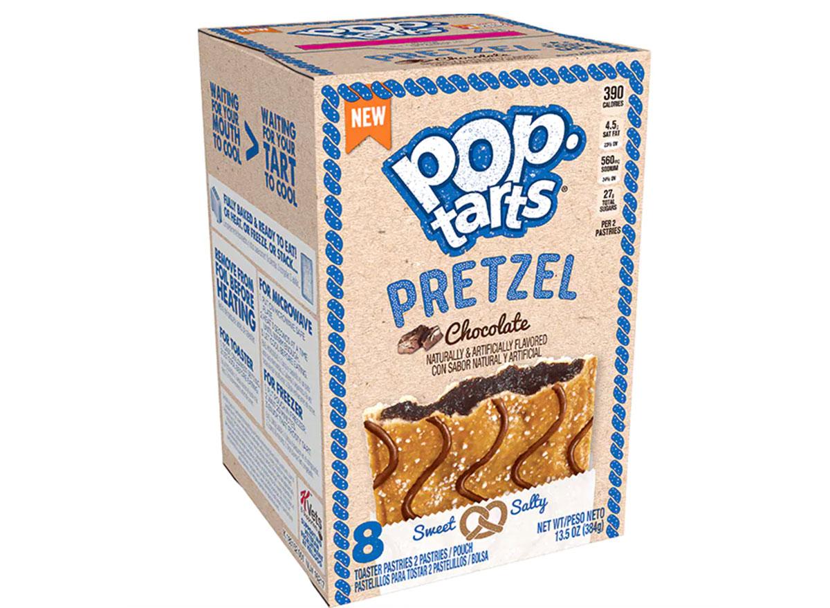 poptarts pretzel chocolate