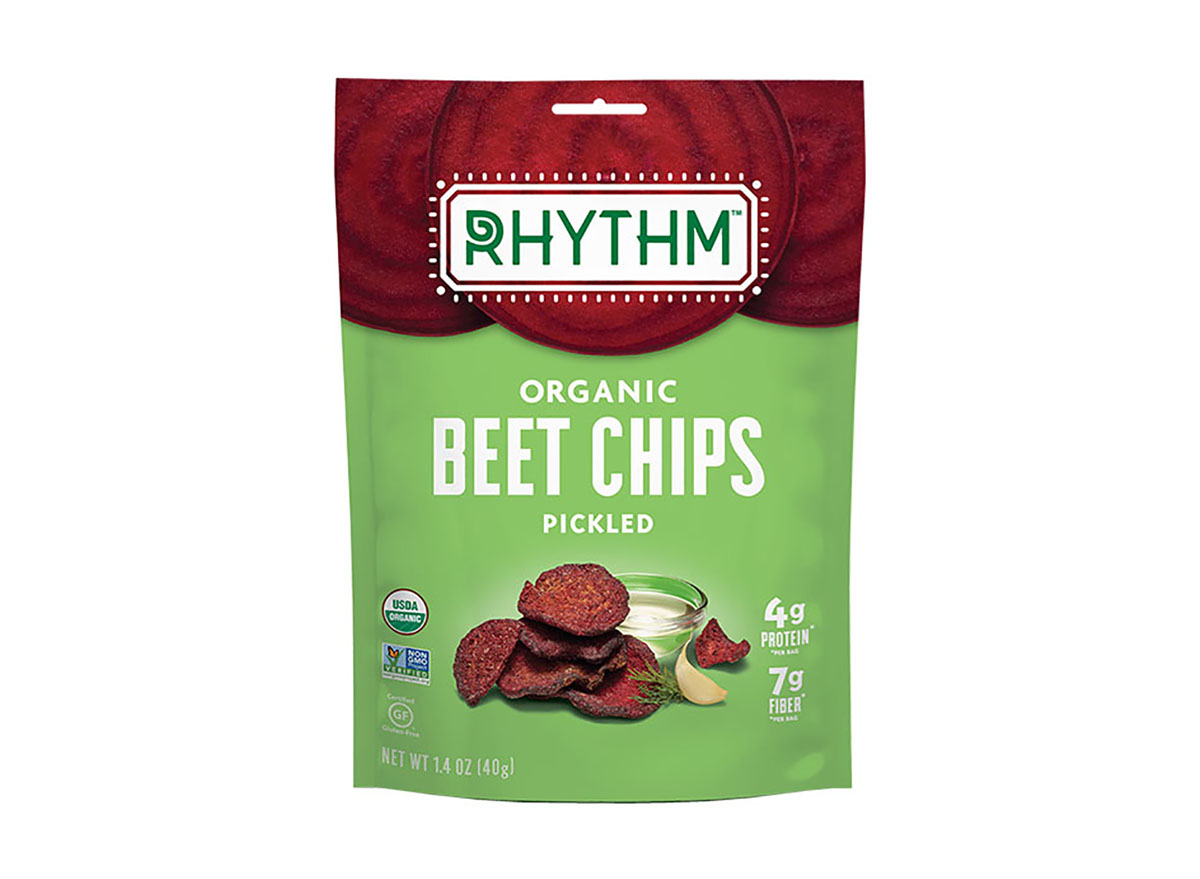 rhythm pickled beet chips