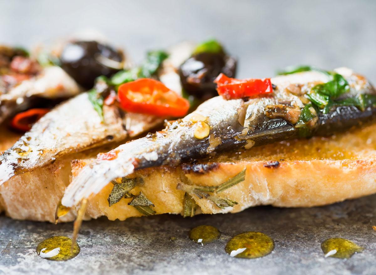 sardine toast