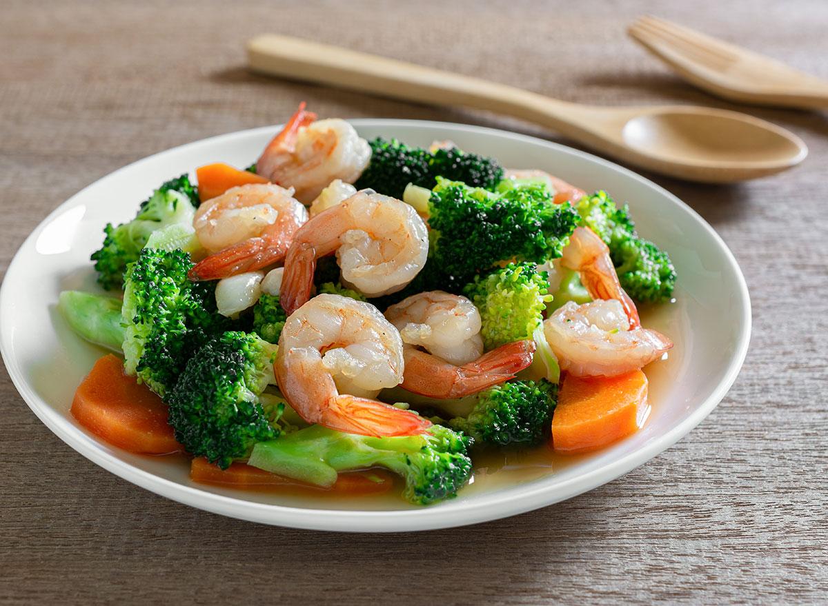 shrimp vegetable stir fry