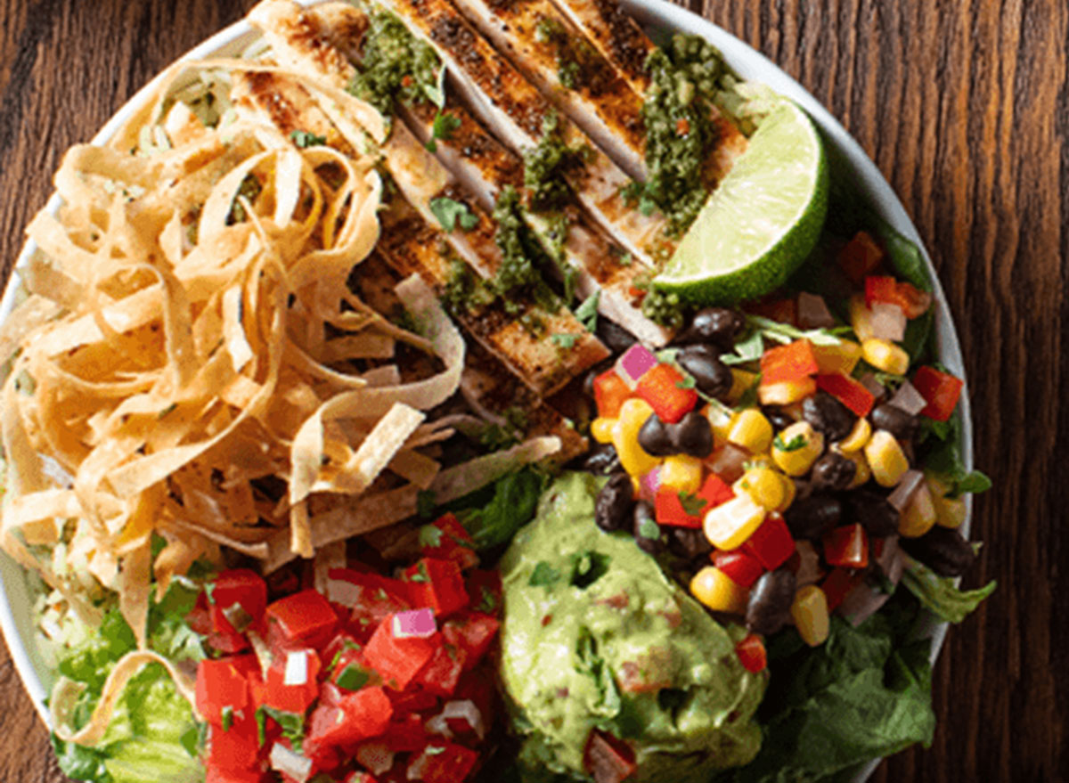 southwest lime chicken bowl