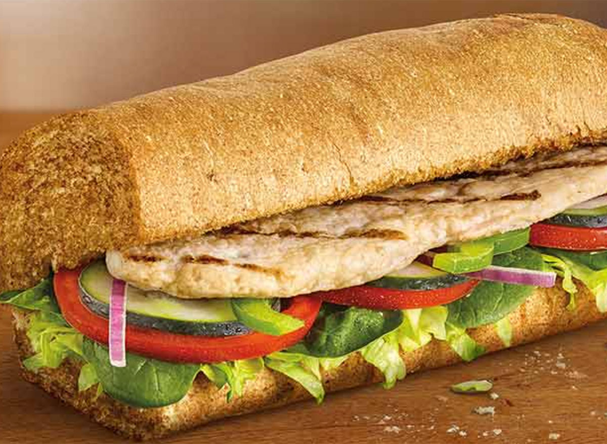 subway chicken sandwich