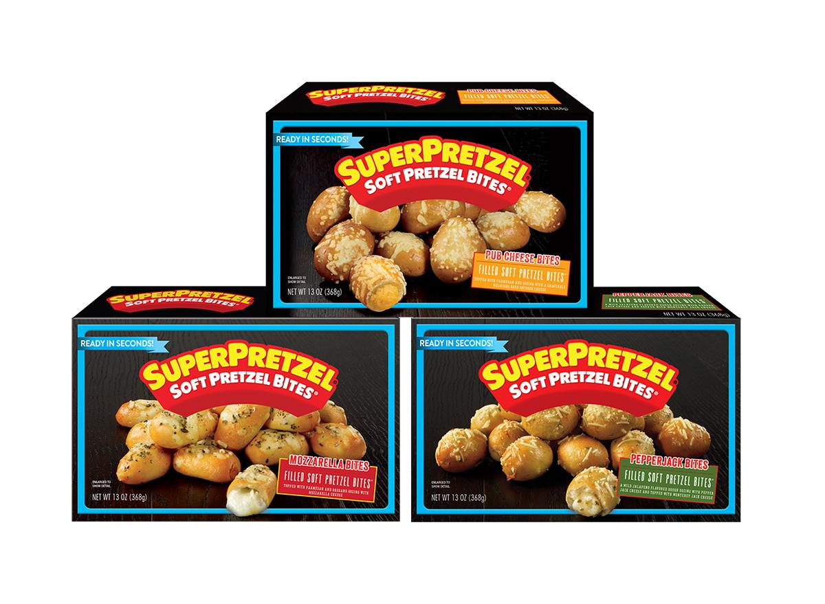 superpretzel soft pretzel bites