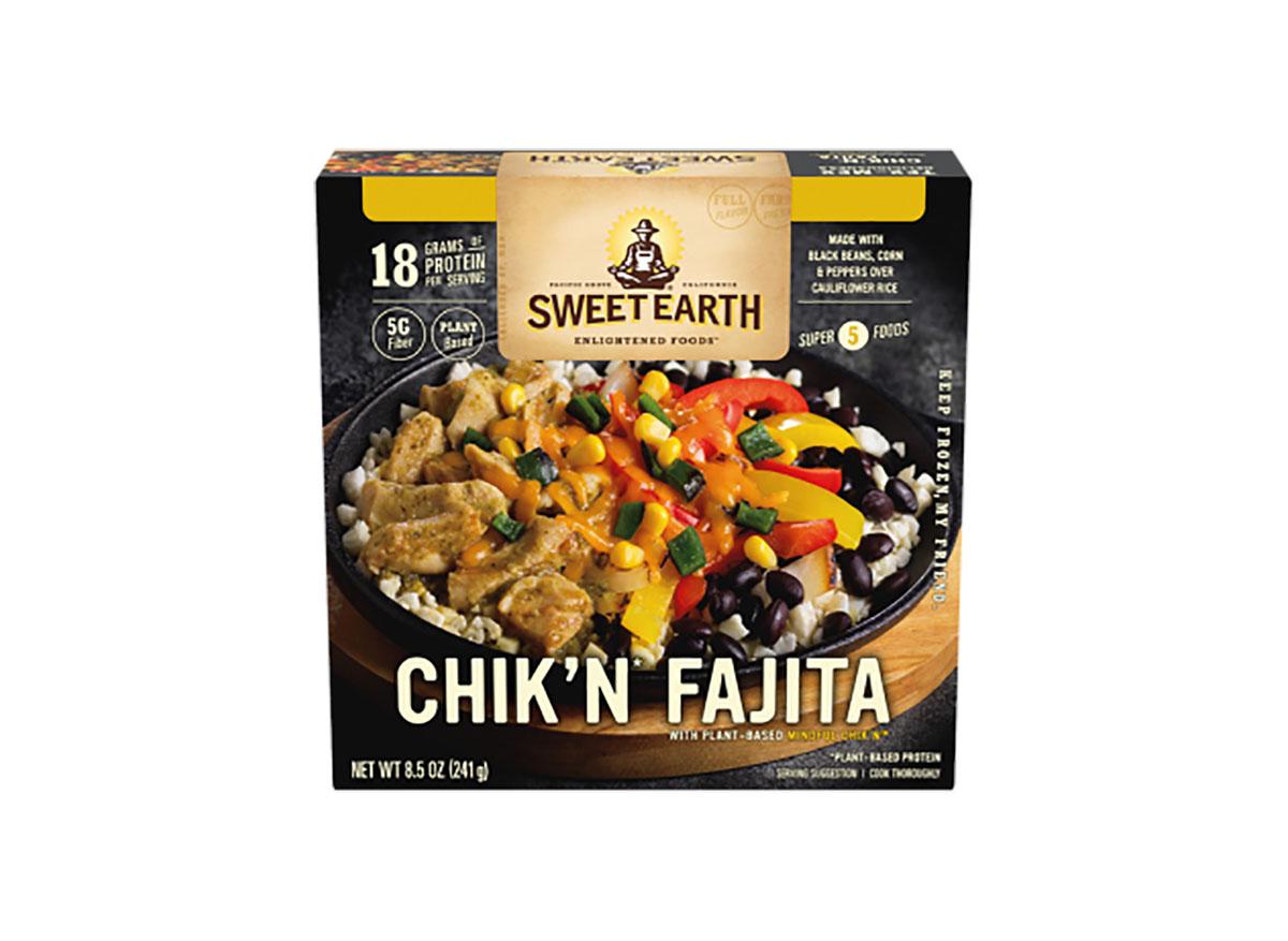 sweet earth chikn fajita bowl