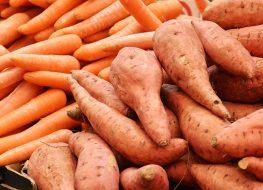 sweet potato carrot market