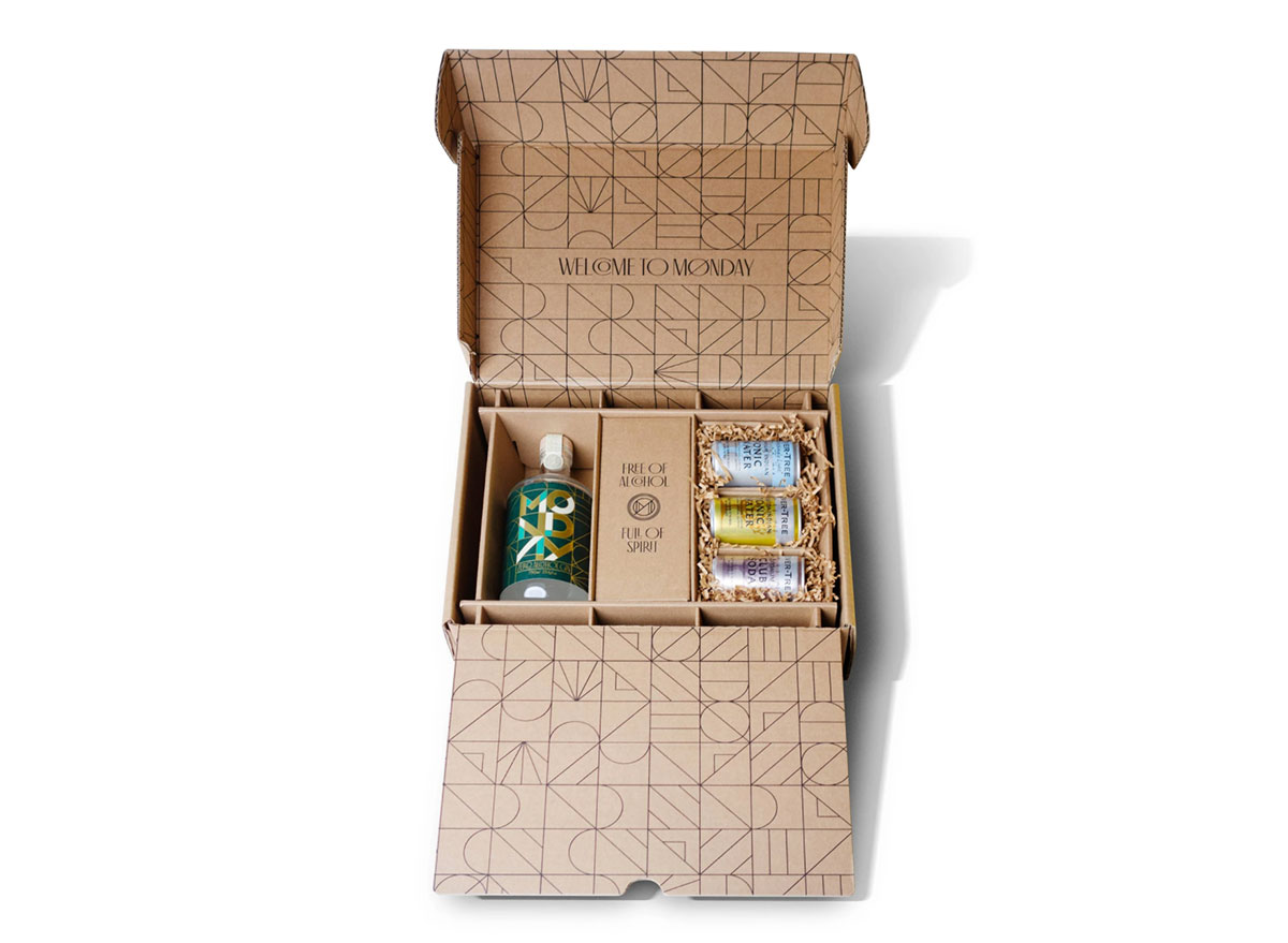 the monday gin gift pack