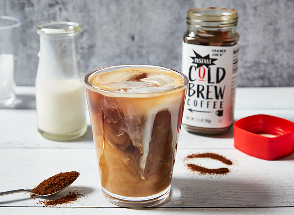 trader joes instant cold brew coffee