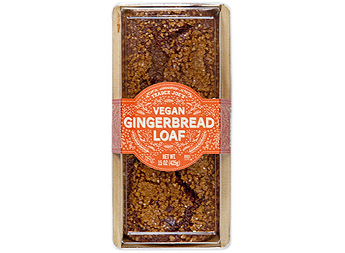 trader joes vegan gingerbread loaf