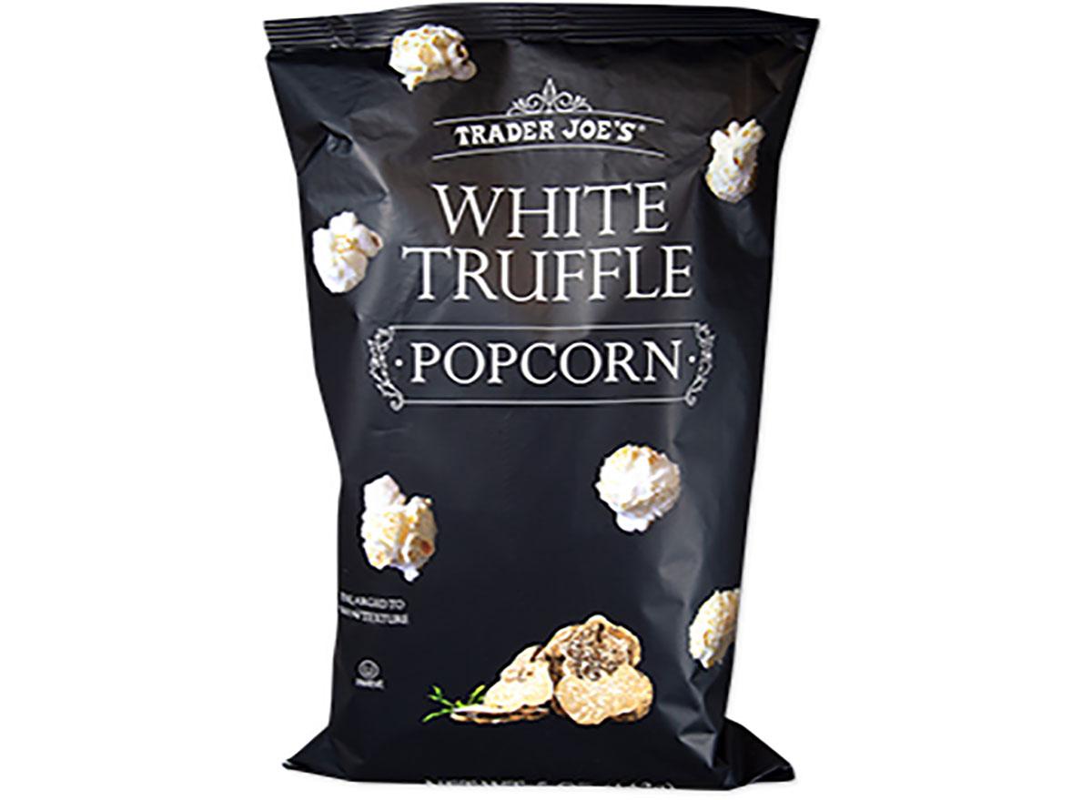 trader joes white truffle popcorn