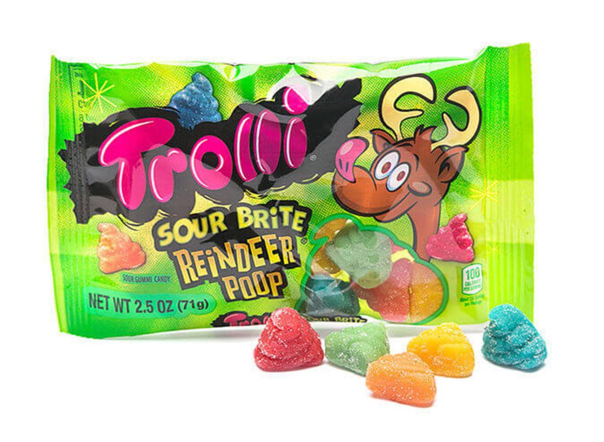 trolli reindeer poop candy