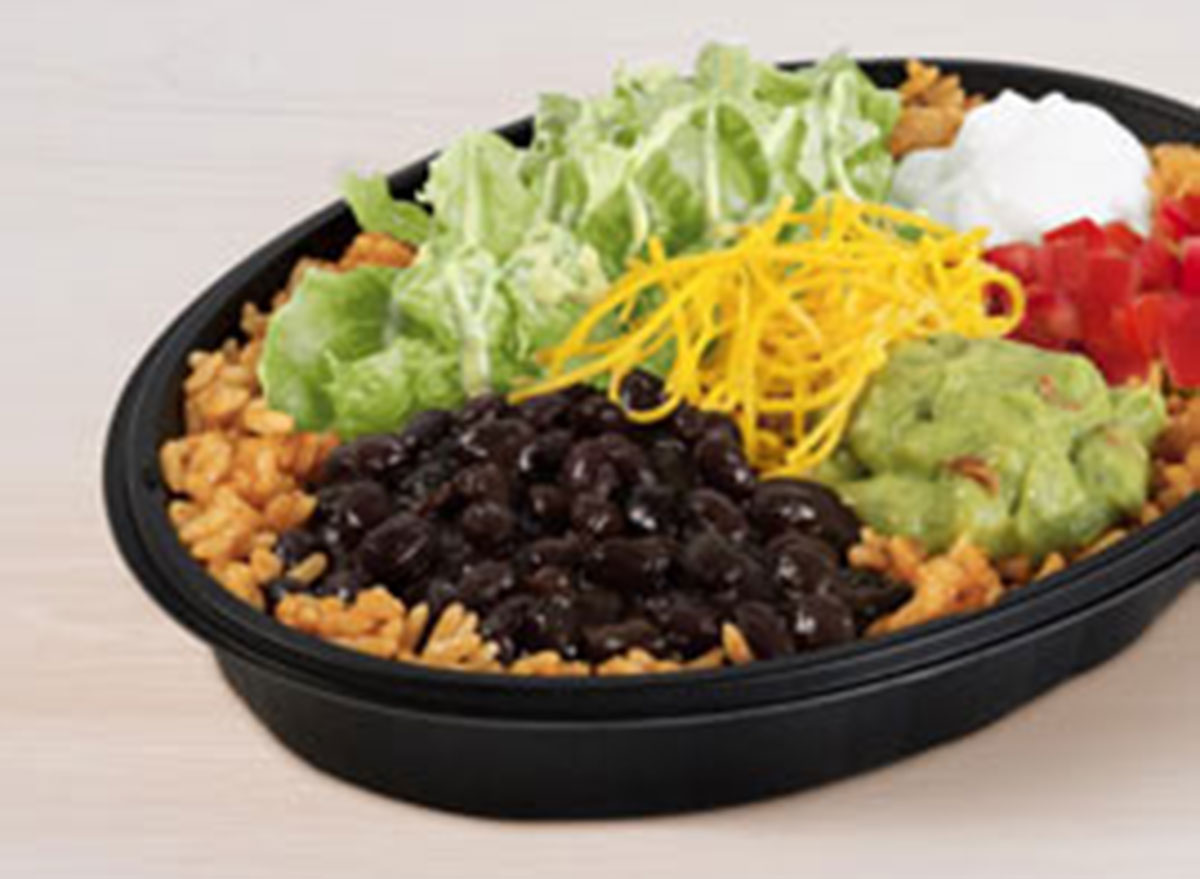 veggie power menu bowl