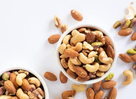 almonds cashews pistachios walnuts mixed nuts