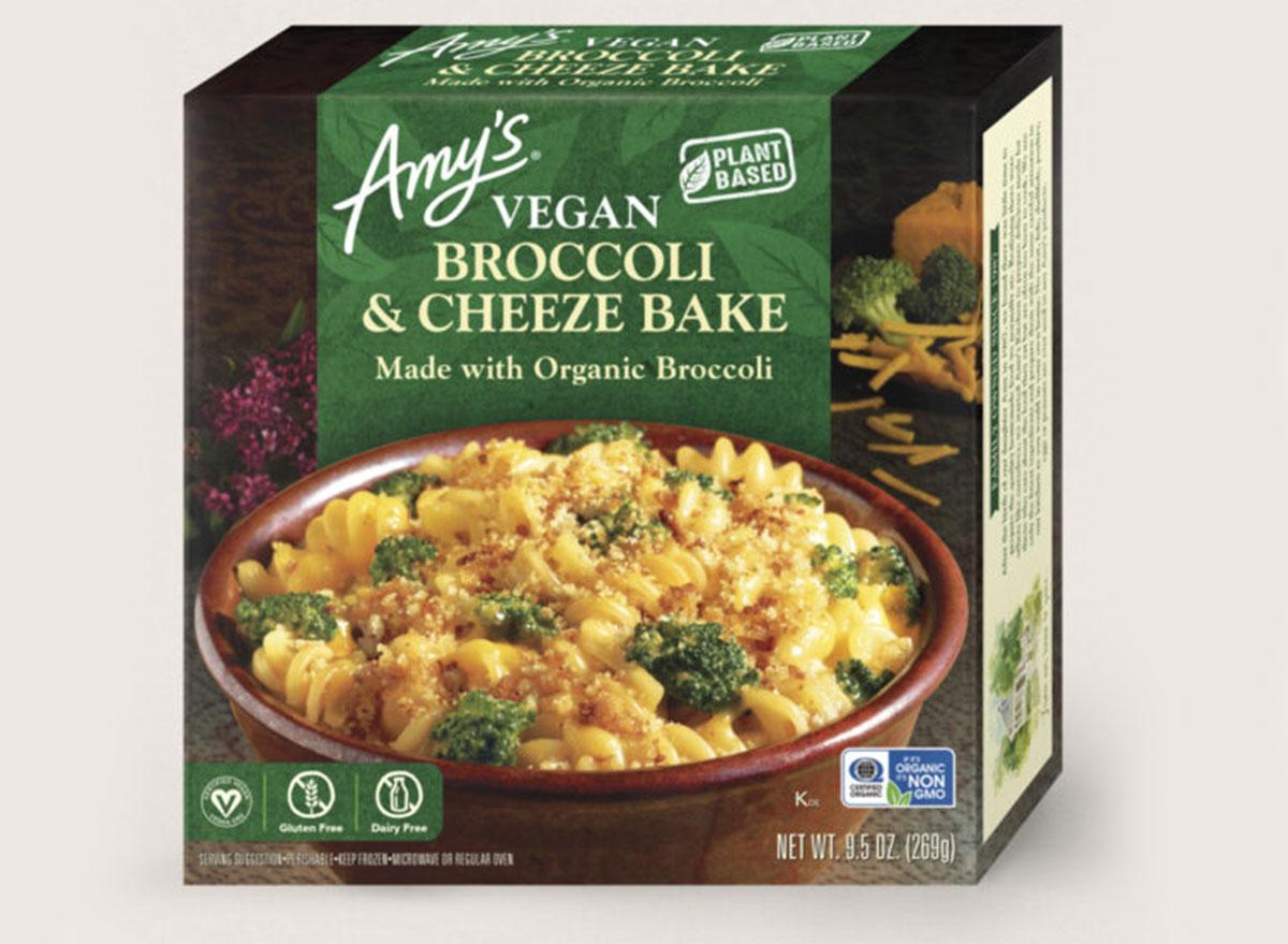 amys broccoli cheeze bake