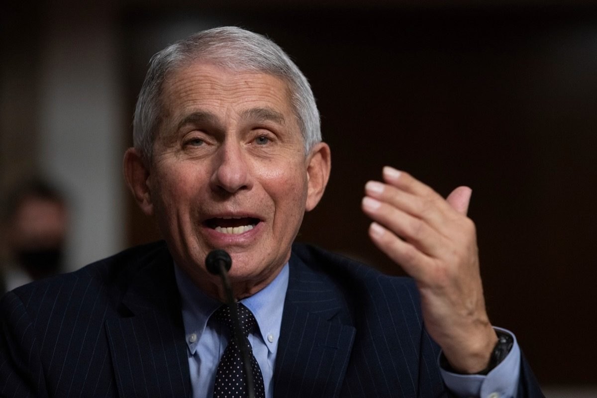Dr. Fauci Just Issued This Eye-Opening Warning - Eat This Not That